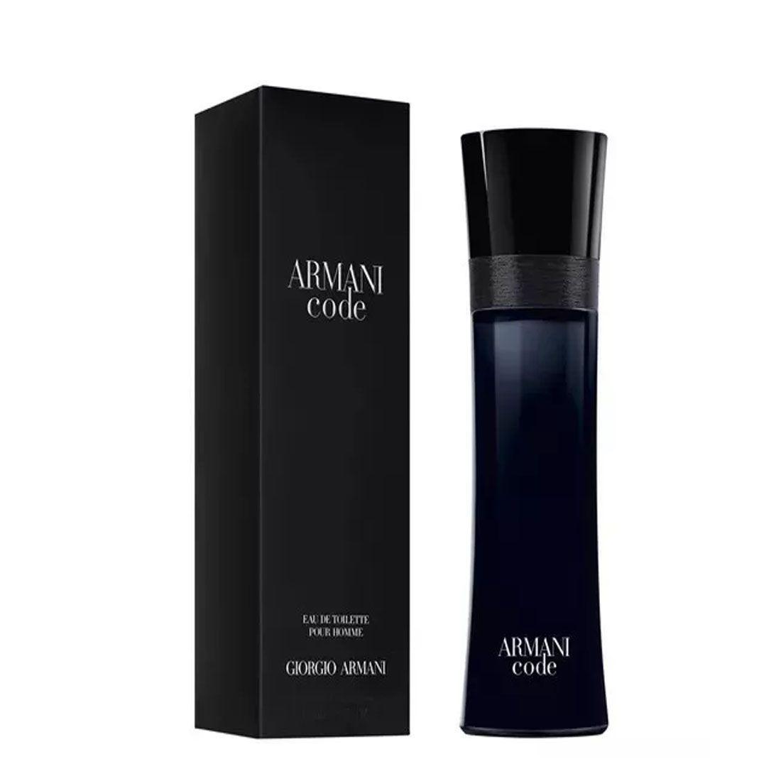 Perfume Armani Code Giorgio Armani Eau De Toilette 75ml