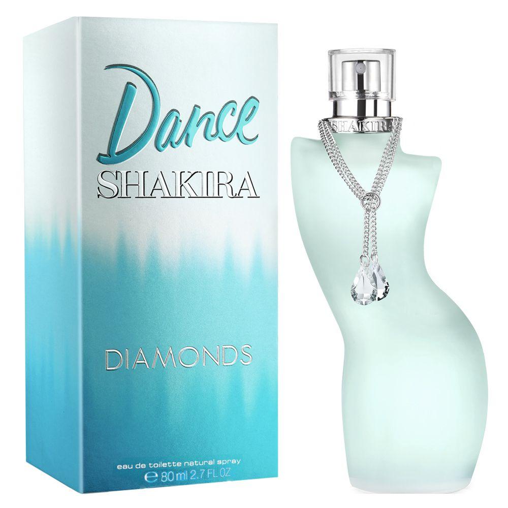 Perfume Dance Diamonds Shakira Feminino Eau de Toilette 80ml