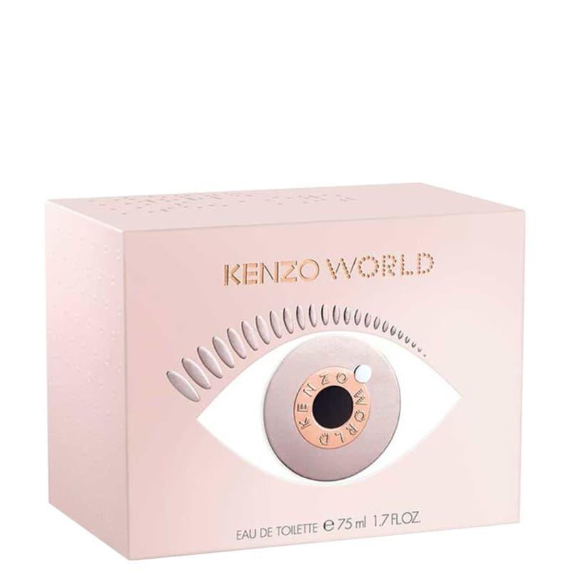 Perfume Feminino Kenzo World Eau de Toilette 75ml