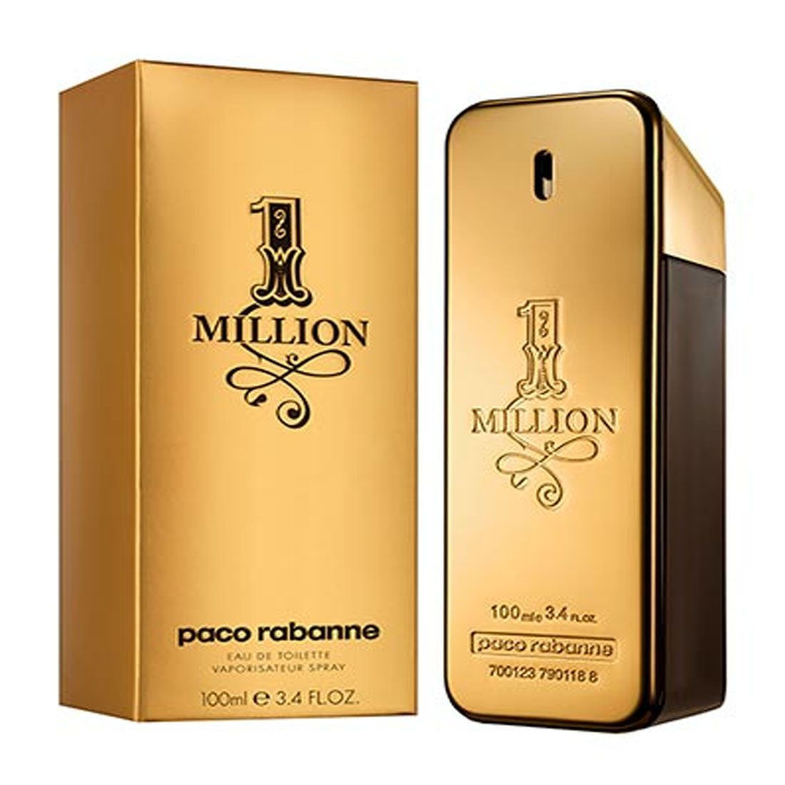 Perfume One Million Paco Rabanne Eau de Toilette 100ml
