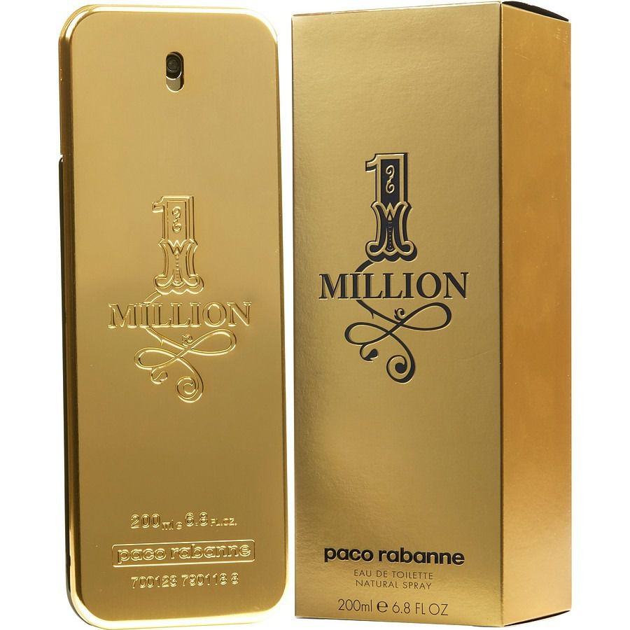 Perfume One Million Paco Rabanne Eau de Toilette 200ml