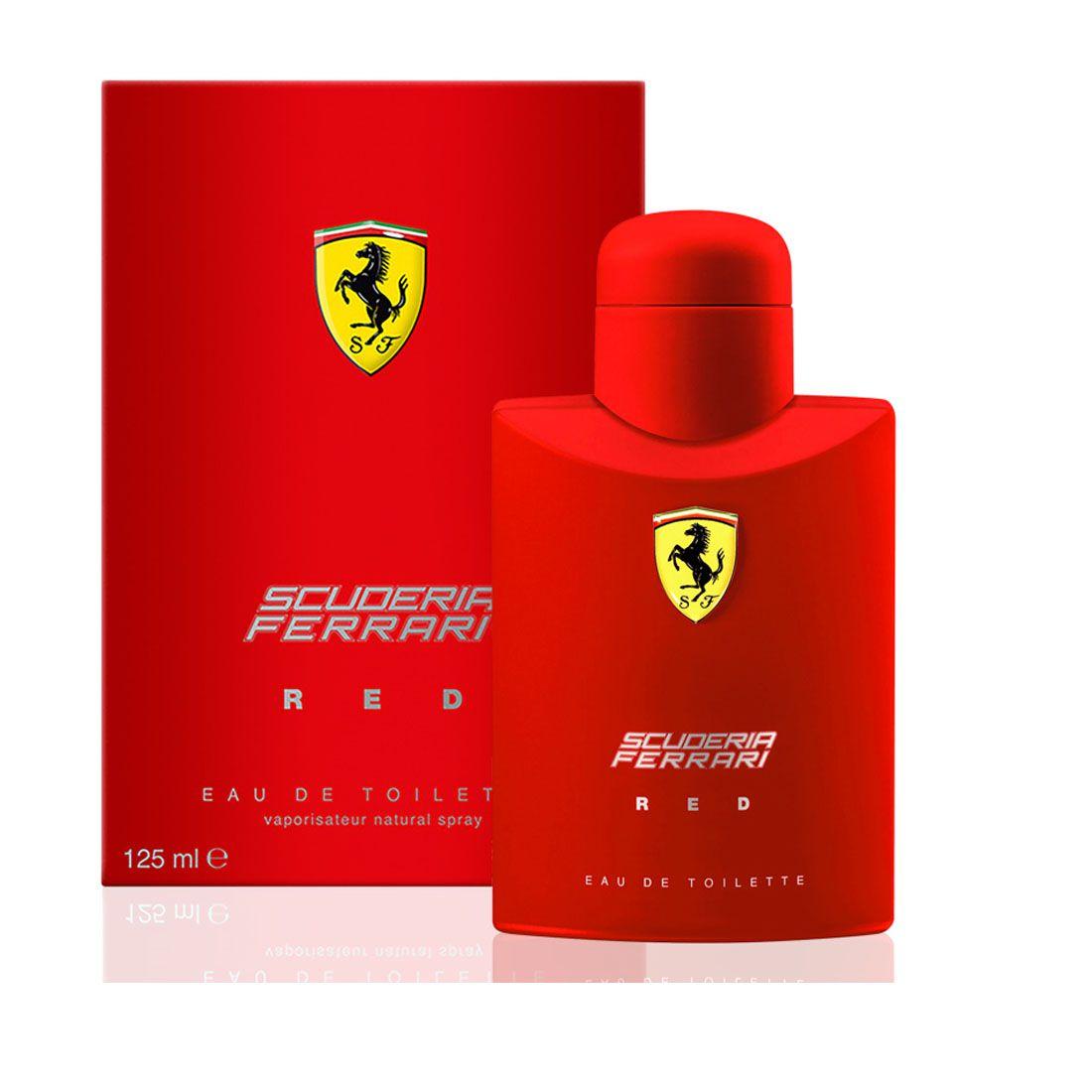Perfume Scuderia Ferrari Red 125ml Eau de Toilette