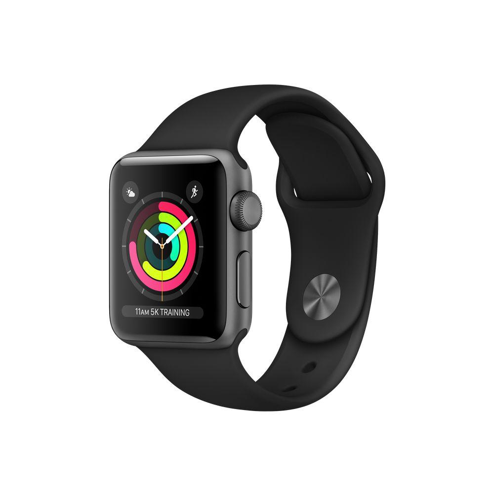 Relogio Apple Watch 3 Aluminum Sport Band Gray 38mm