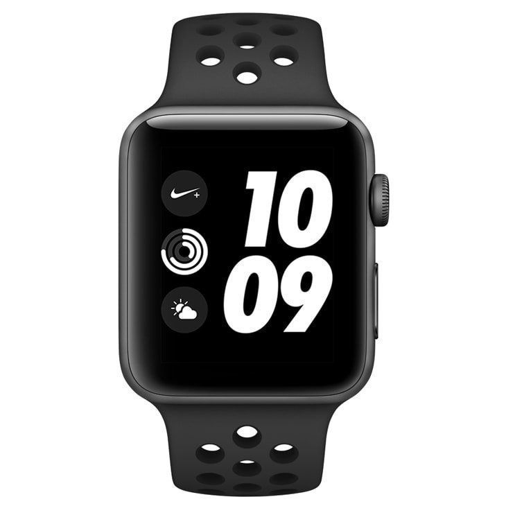 Relógio Apple Watch Nike+ S3 42mm Space Gray A1859