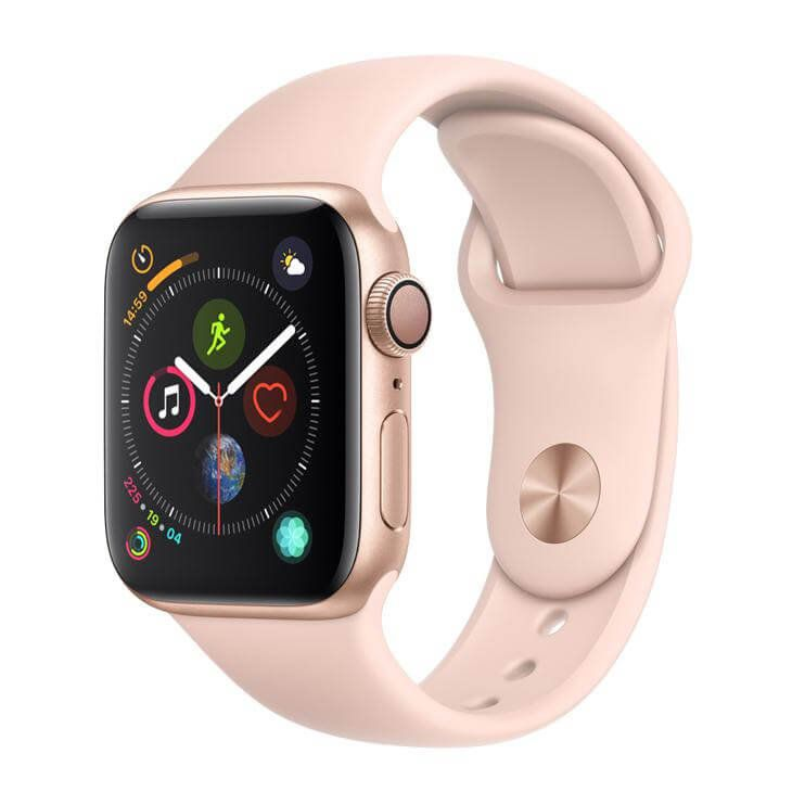 Relogio Apple Watch S4 40 mm Rosa/ Dourado Modelo A1977 GPS