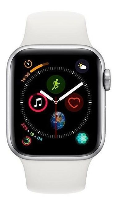 Relogio Apple Watch S4 40 mm Silver Modelo A1977 GPS