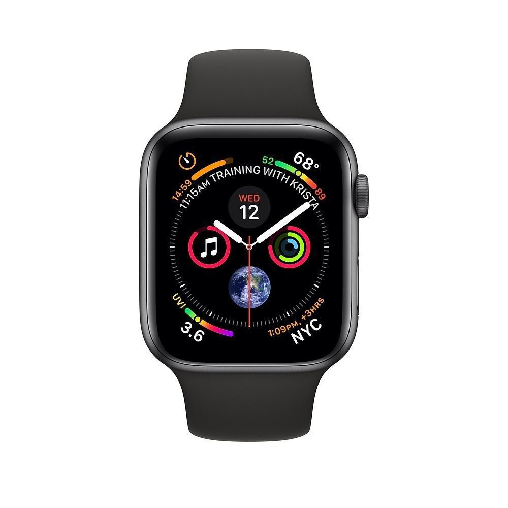 Relogio Apple Watch S4 Space Gray 40 Mm Modelo A1977 Gps