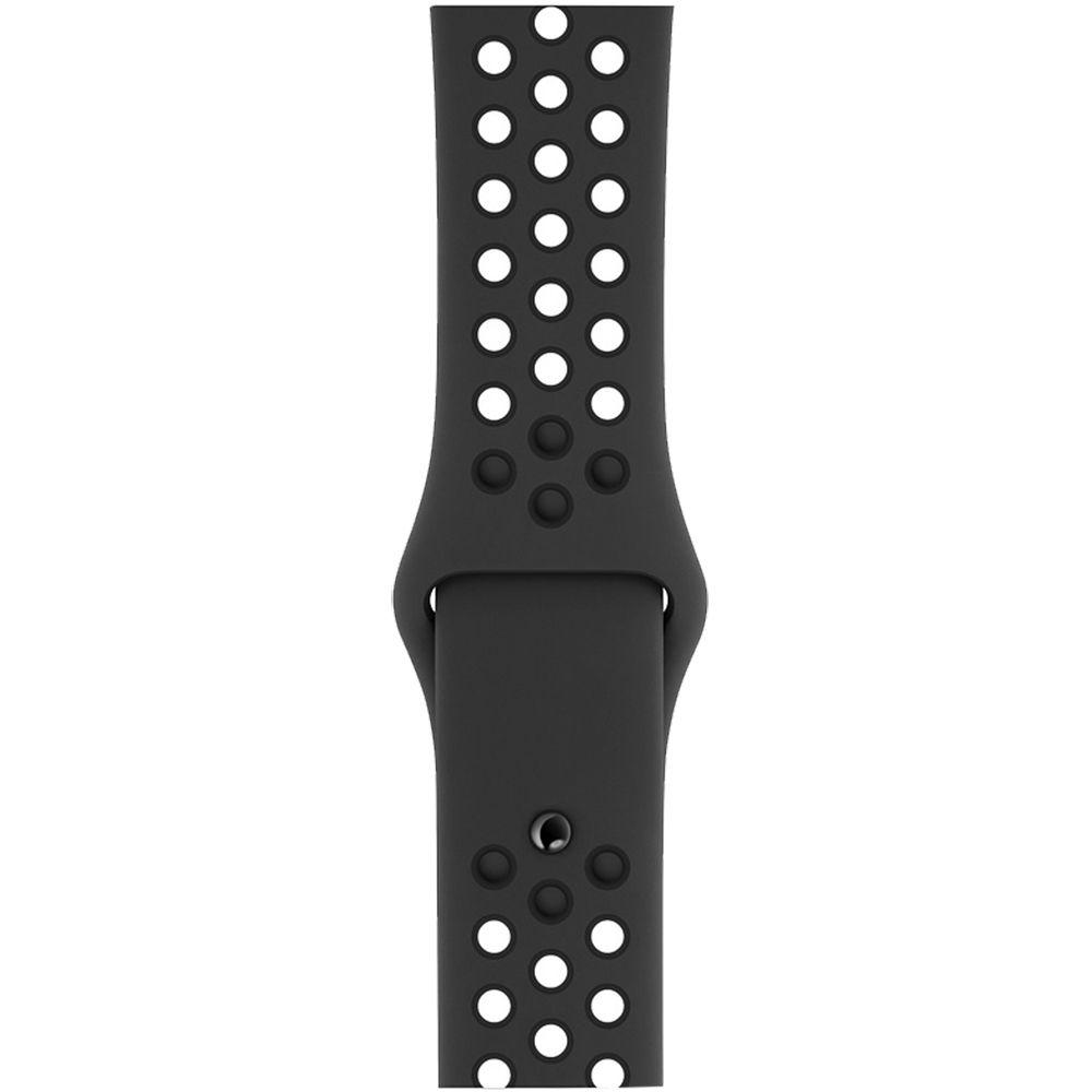 Relogio Apple Watch S4 Nike Preto 44 mm Modelo A1978 GPS