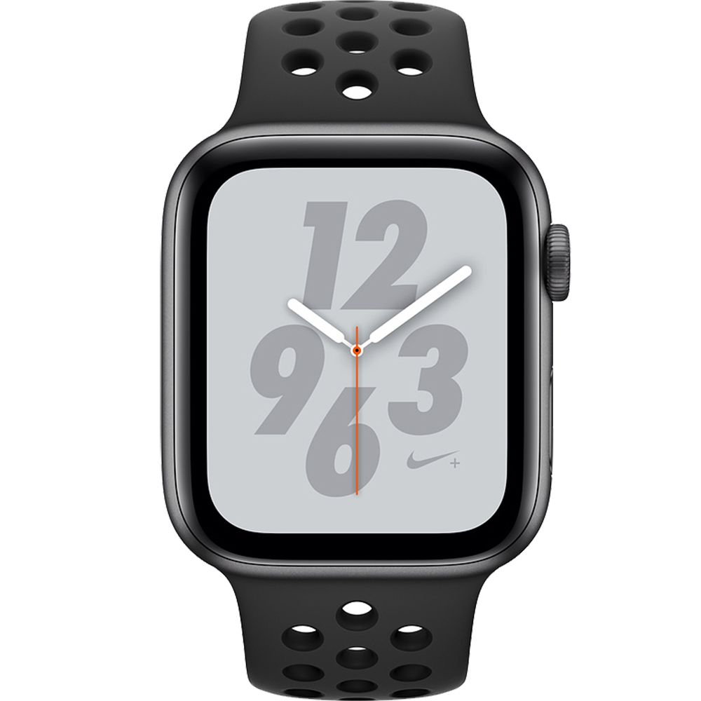 a4935b9df5e Relogio Apple Watch S4 Nike Preto 44 mm Modelo A2008 GPS + Celular ...