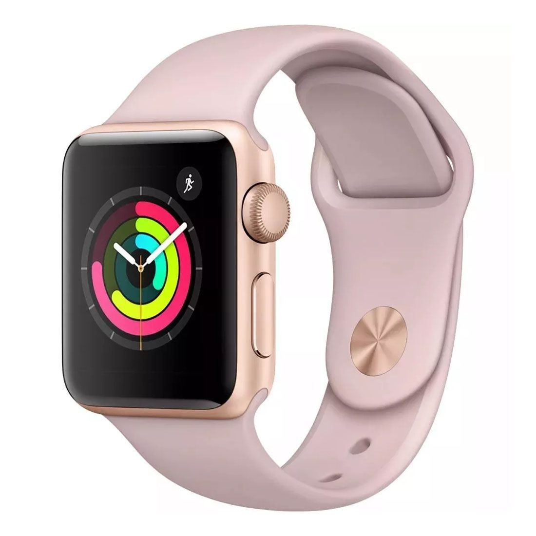 Relógio Apple Watch Series 5 40  mm Sport Band Pink Band GPS