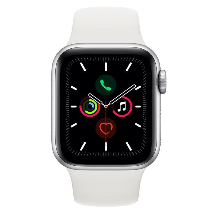 Relogio Apple Watch Series 5 40 mm GPS  Prata