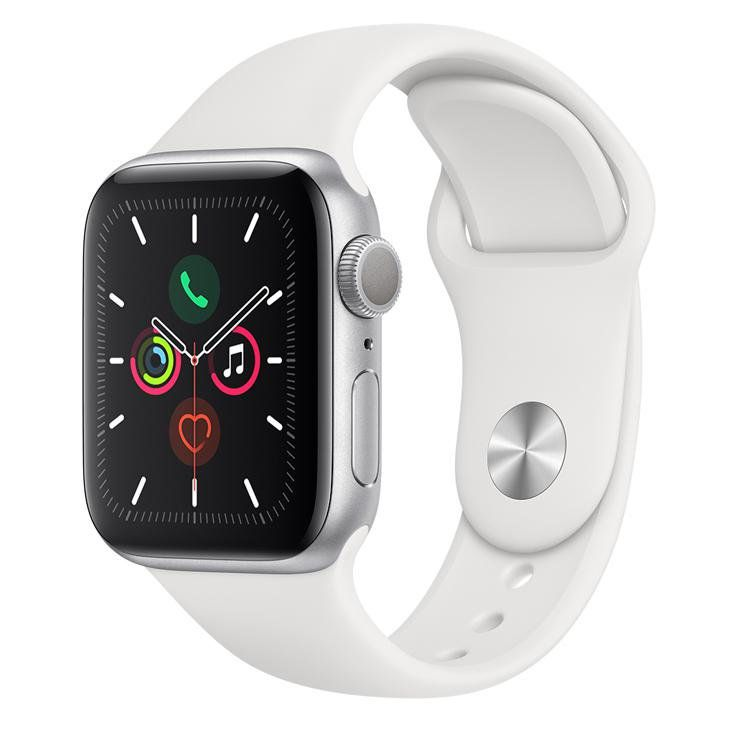 Relogio Apple Watch Series 5 44 mm GPS Prata