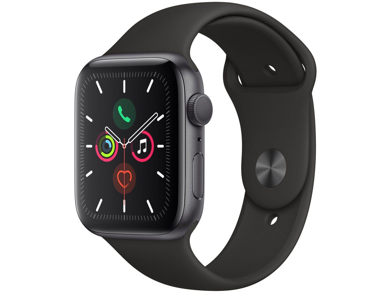 Relogio Apple Watch Series 5 44 mm GPS Preto