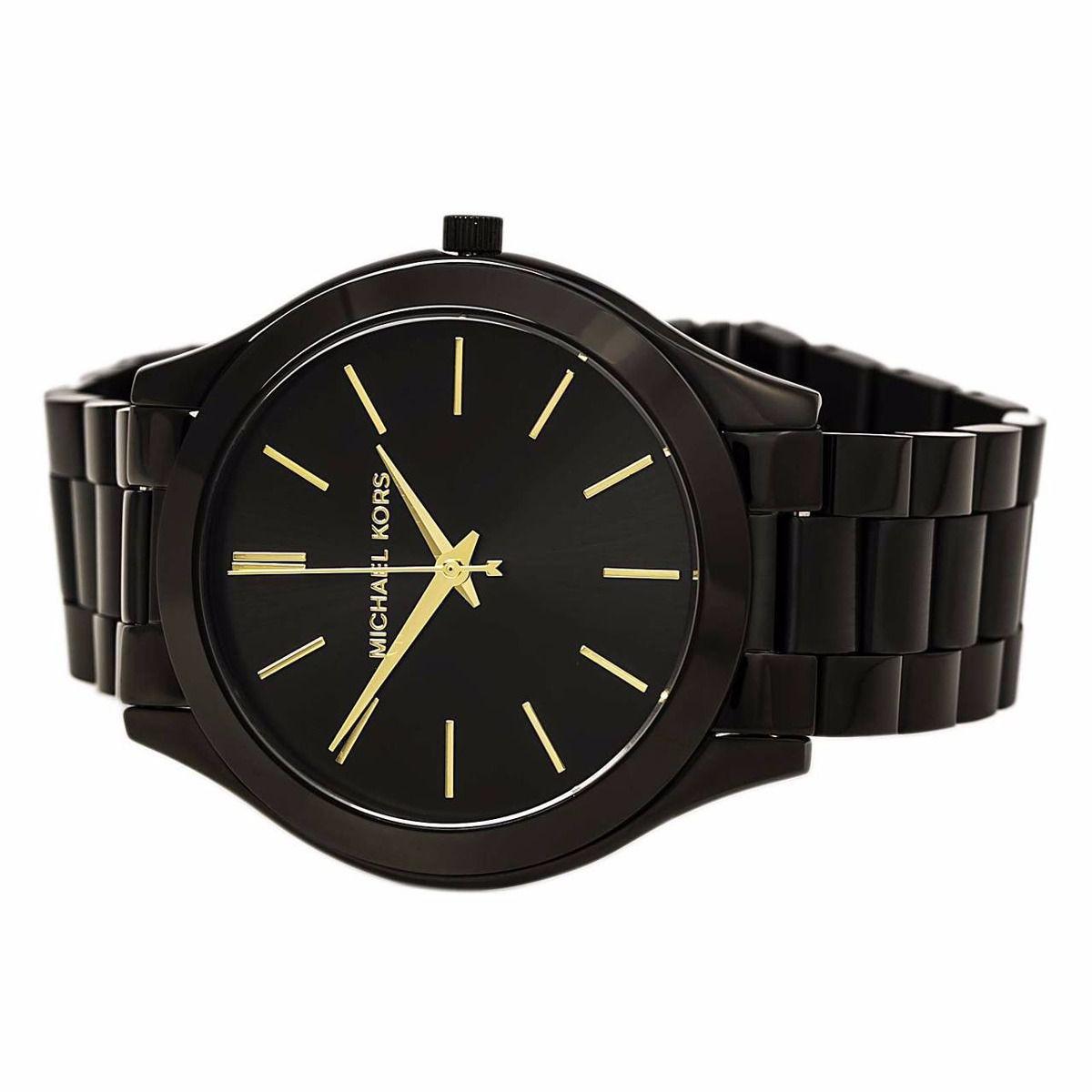 Relógio Michael Kors All StainLess Steel MK 3221