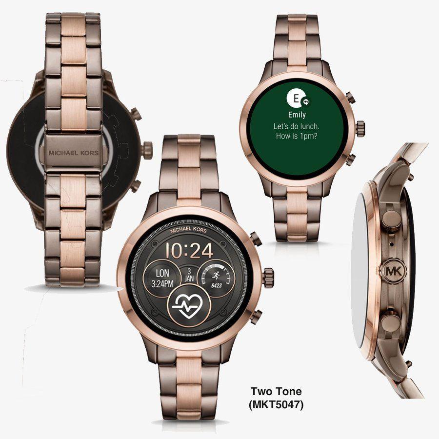 Relógio Smartwatch Michael Kors Runway MKT5047 Bronze