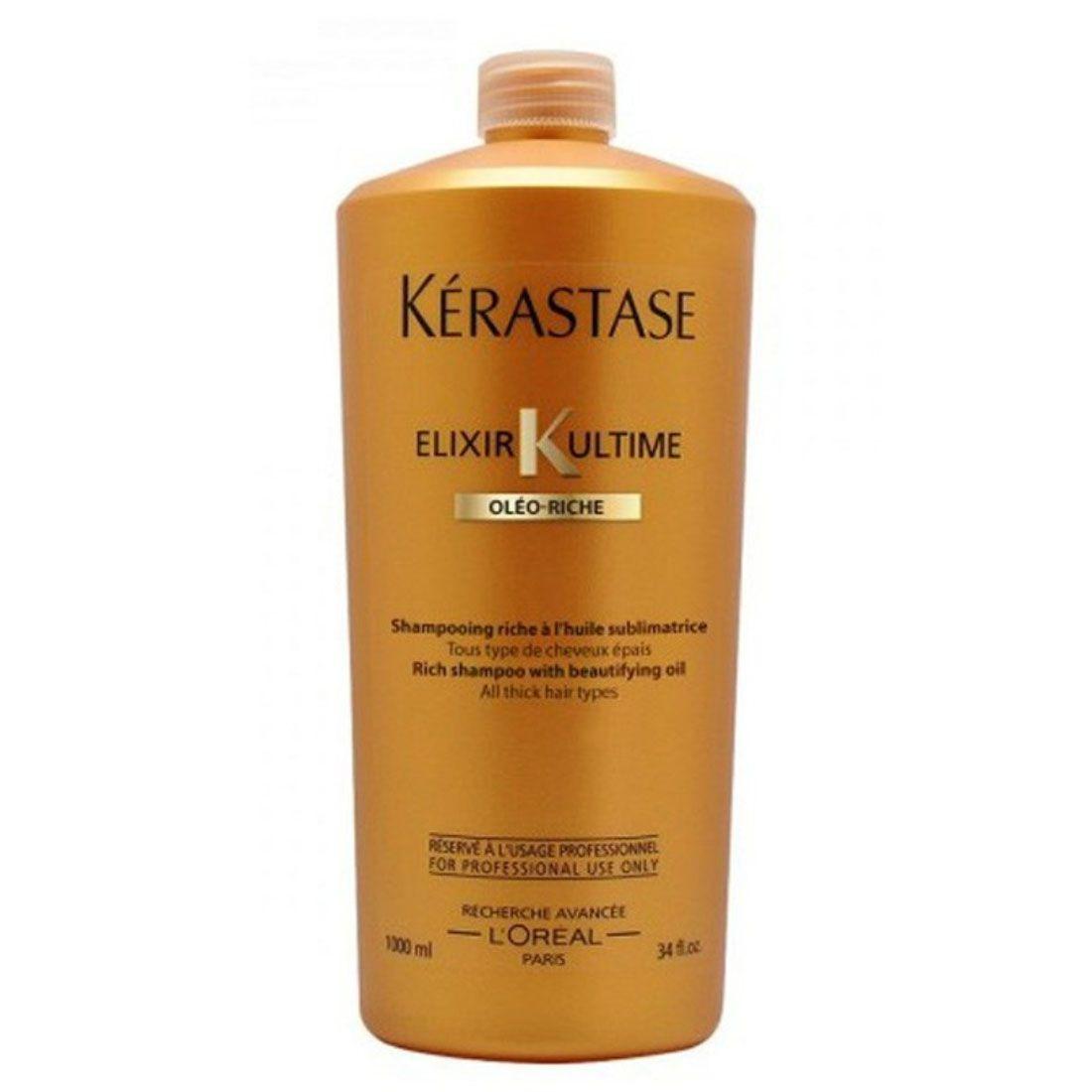 Shampoo Kérastase Elixir K Ultime Oléo Riche 1L