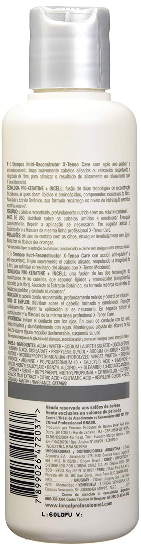 Shampoo L'oréal X-tenso Care Nutre-reconstrutor 300ml
