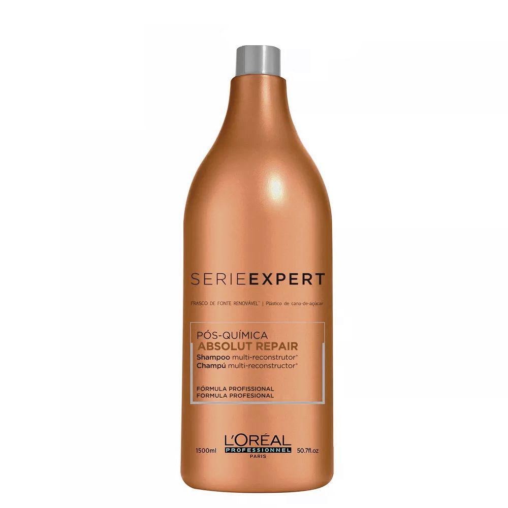 Shampoo Loreal Expert Absolut Repair Pós-Química 1,5L