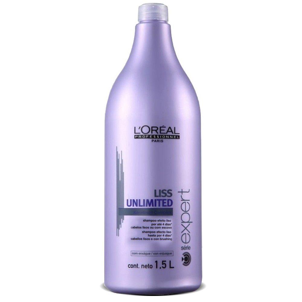 Shampoo Loreal Professionnel Liss Unlimited 1,5L