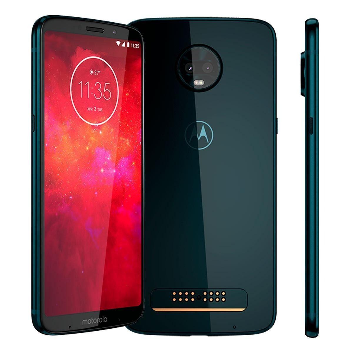 Smartphone Motorola Moto Z3 Play 64gb Índigo