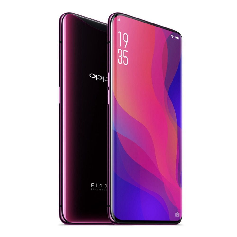 Smartphone Oppo Find X Pafm00 256 Gb Roxo Configurado com App p/ uso no Brasil