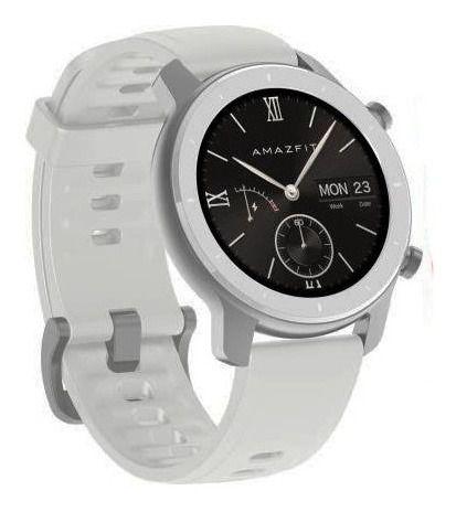 Relogio Smartwatch Xiaomi Amazfit GTR 42mm A1910 Branco