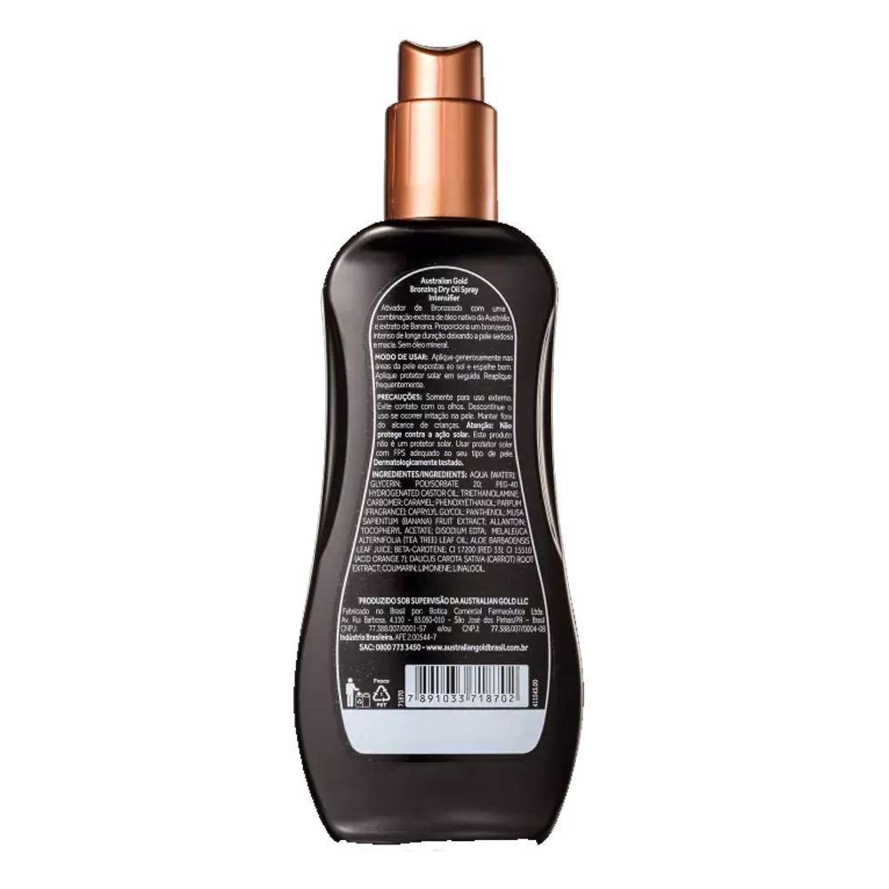Spray Bronzeador Australian Gold Intensifier 237ml