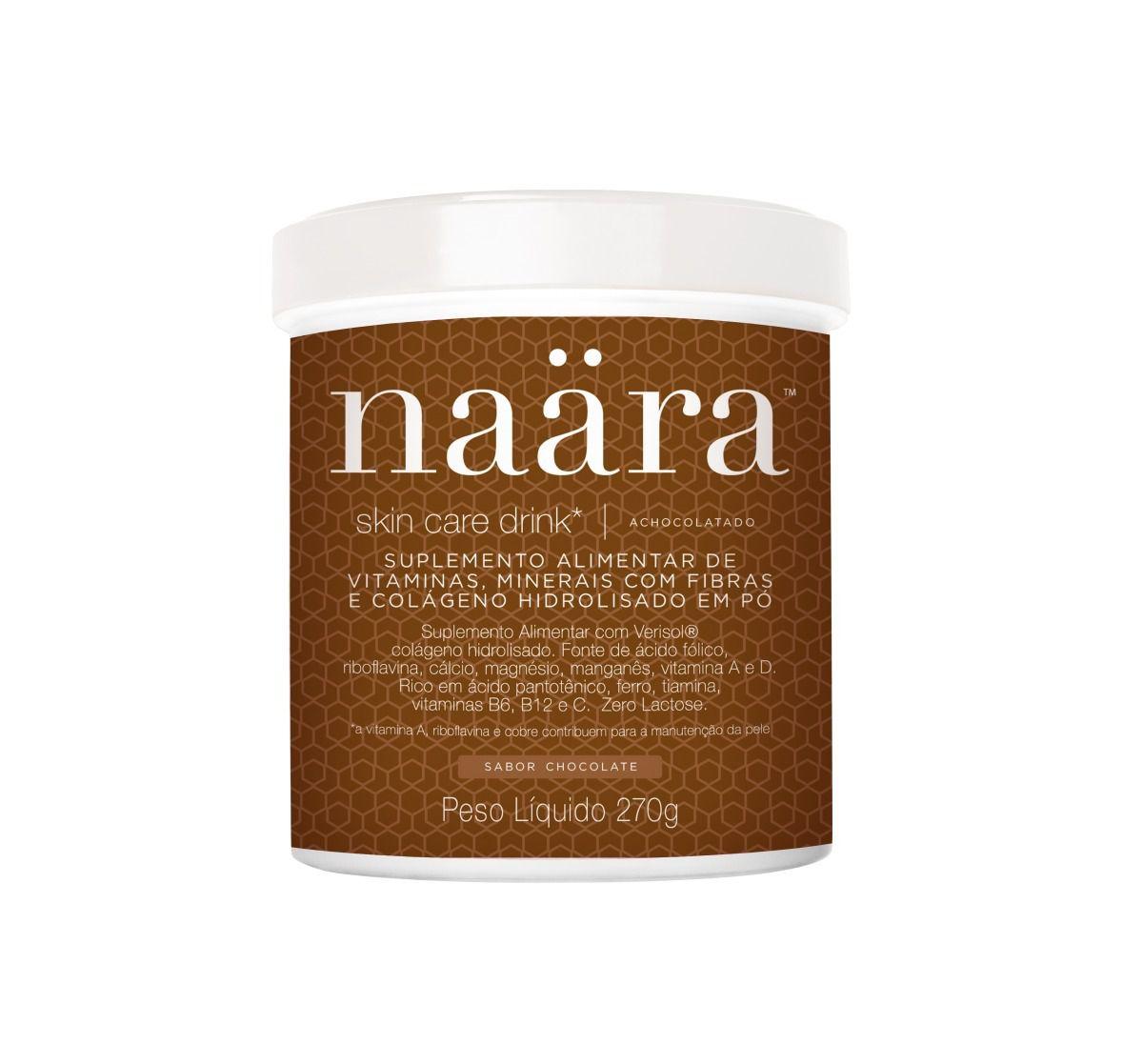 Suplemento Vitamínico Naära Skin Care Drink  VERISOL Chocolate 270g
