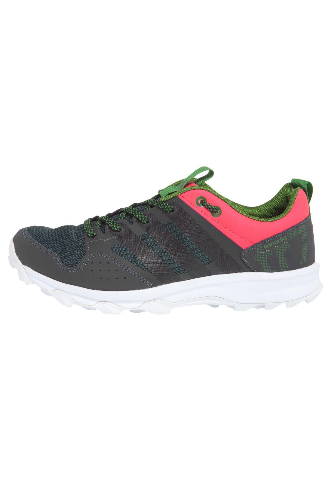 Tênis Adidas Kanadia 7 Tr W Cinza N.39