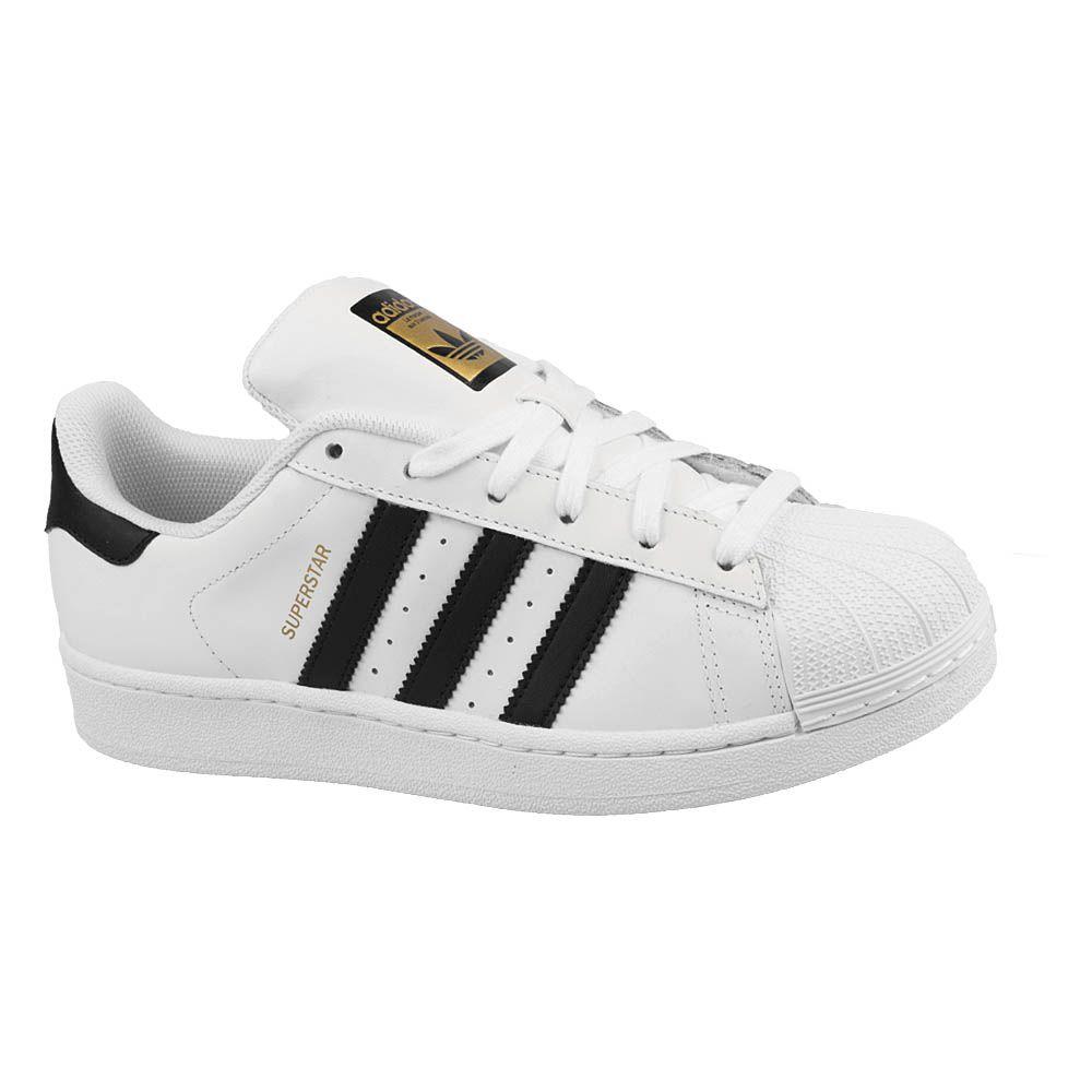 5869f7234d4 Tênis Adidas Superstar Branco Preto Nº 36 - JP Import - Produtos ...