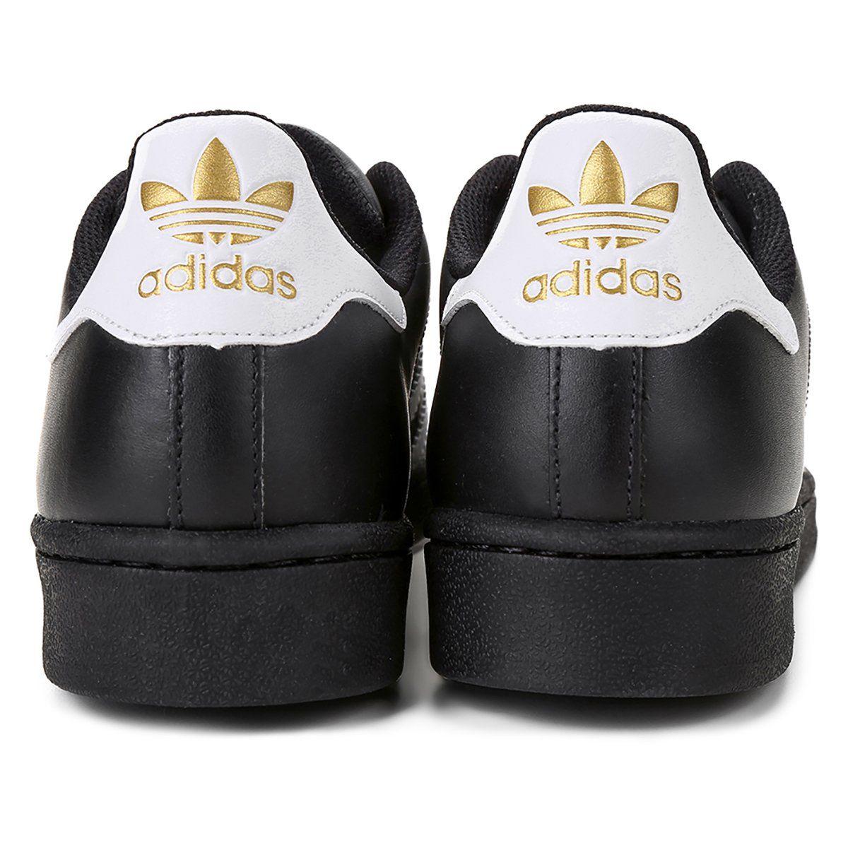 Tênis Adidas Superstar Foundation Preto N.44