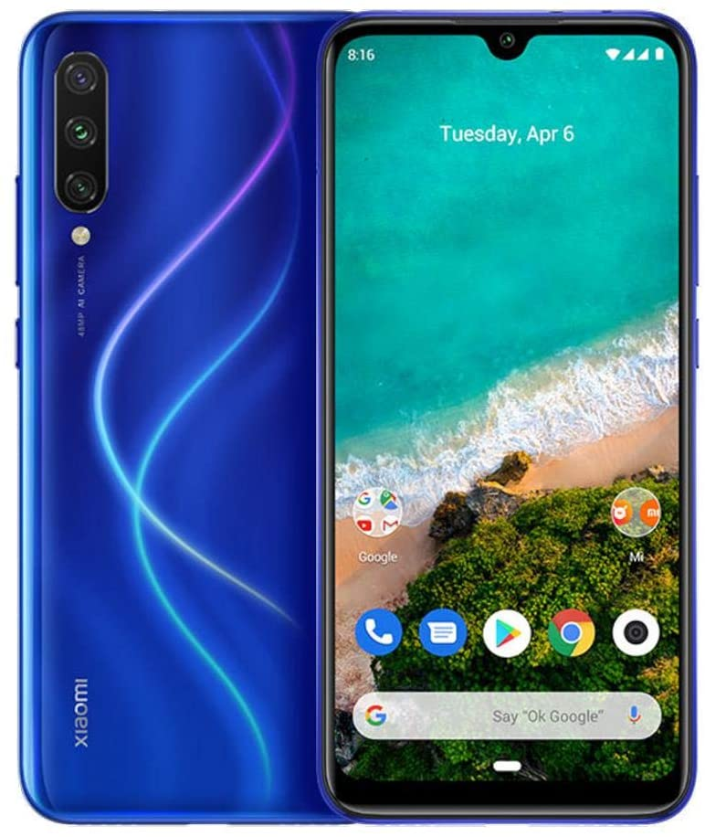 Xiaomi Mi A3 4GB RAM 64GB Azul