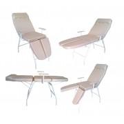 Kit Para Podologia Cadeira, Luminária com Exaustor, Armário Mocho e Brinde