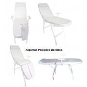 Kit Podologia Cadeira Mocho Exaustor Carrinho Escada e Brinde