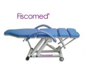 Kit Podologia Cadeira Semi-Elétrica Azul, Mocho, Exaustor, Carrinho Brinde Micro motor