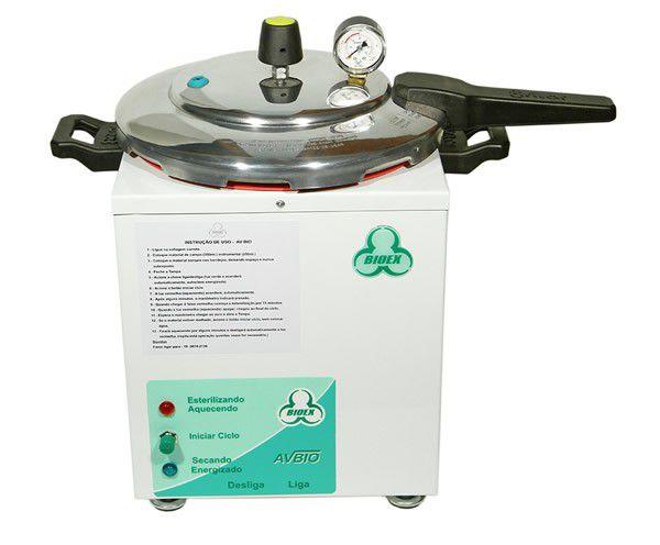 Autoclave Analógica Bioex Avbio 08 Litros