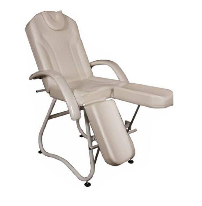 Cadeira Bege Maca Requinte Podologia e Tatuador Fiscomed