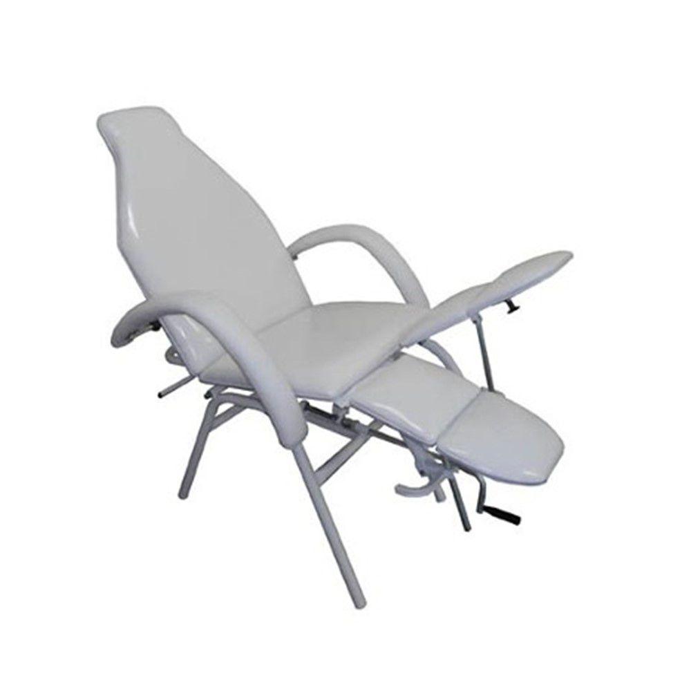 Cadeira De Podologia Com Regulagem Assento, Pernas E Encosto