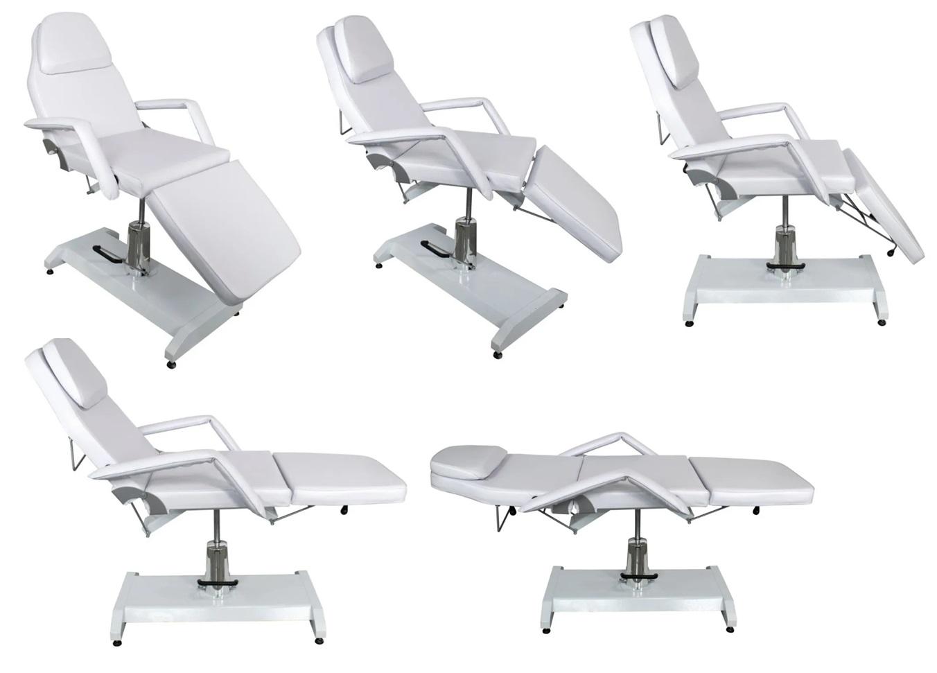 Cadeira Luxo Hidráulica Para Estética e Micropigmentação E Brinde