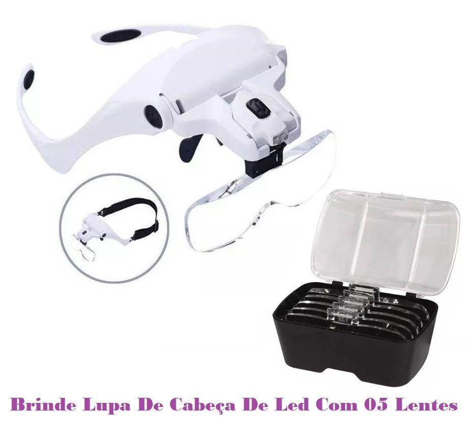 Cadeira Maca de Podologia Elevação Elétrica Luxo Com Bandejas Exaustor e Brinde