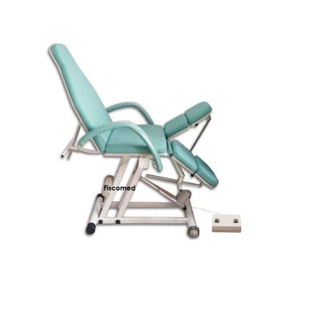 Cadeira Maca De Podologia Verde Elevação Semi Elétrica Luxo E Brinde