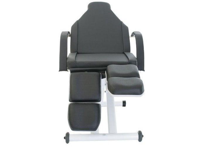 Cadeira Maca Podologia Elevação Elétrica Lux Brinde