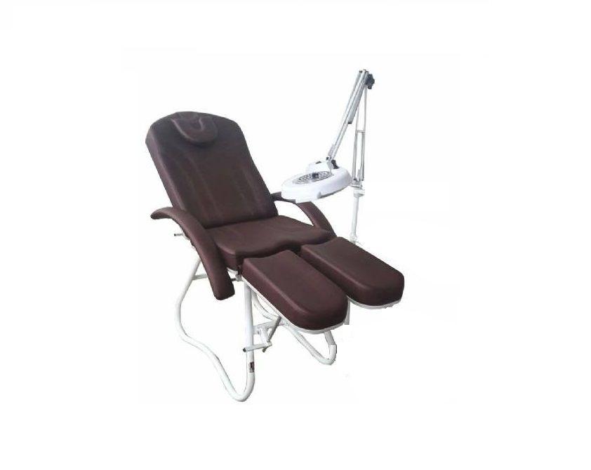 Cadeira Podologia Mecânica Com Exaustor e Luminária Luz Fria