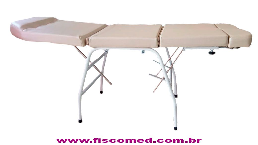 Kit Bege Para Podologia Cadeira Luminária Com Exaustor Carrinho Mocho Brinde Lupa  Led