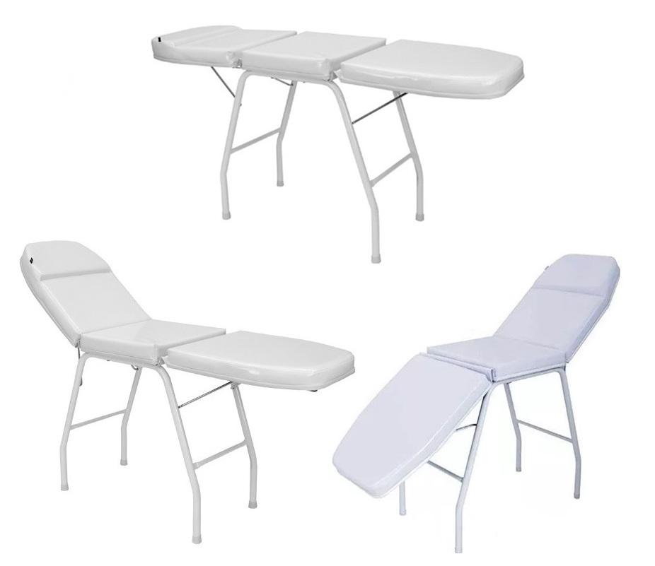 Kit Estética Maca Cadeira Mocho Carrinho E Brinde