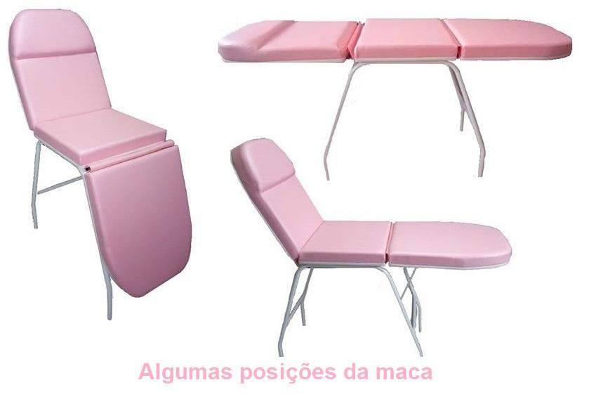 Kit Estética Poltrona Maca Mocho á Gás Armário Escada Brindes