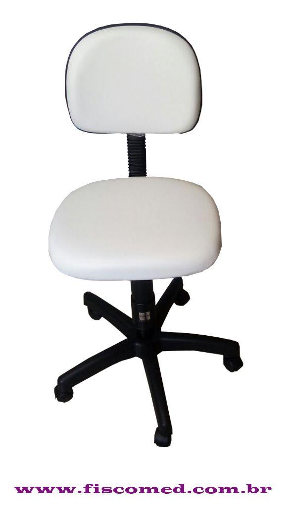 Kit Para Estética Cadeira Hidráulica,Mocho a Gás, Carrinho, Lupa Com Luminária Brinde Cinta Massageadora