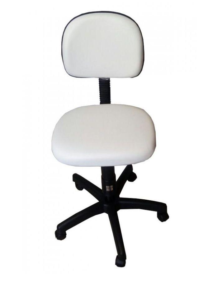 Kit Podologia Cadeira Luminária Com Exaustor Armário Mocho Brinde Lupa
