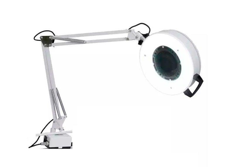 Kit Podologia Cadeira Luminária Com Exaustor Armário Mocho Brinde Motorzinho