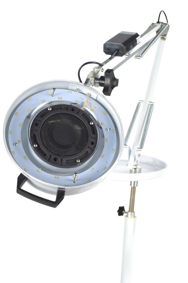 Kit Podologia Cadeira Mecânica Mocho à Gás Armário Exaustor com Luminária Brinde